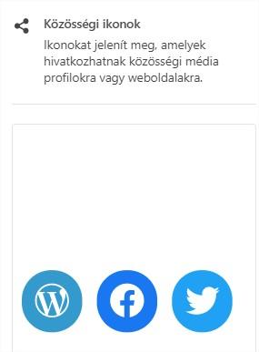 közösségi ikonok niche weboldaladra