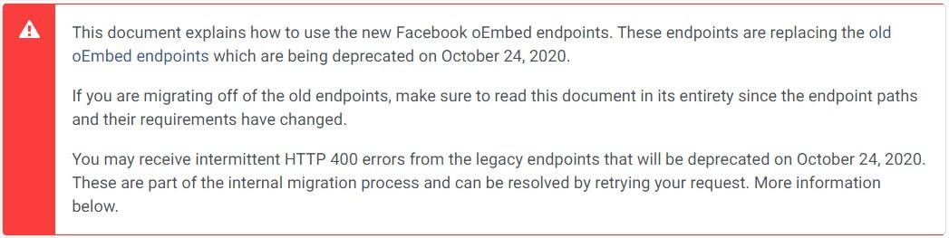 Hogy működjenek újra a Facebook embeds kódjaim a WordPress weboldalaimon?