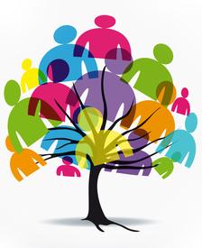 Közösség, hogy segítsenek az út minden egyes lépésében