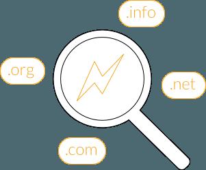 Hatékony, átfogó legjobb domain név keresés